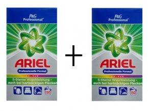 2x Ariel Professional Color prášek na praní 150 PD, 9,75 kg