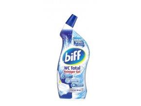 Biff Total WC gelový čistič s vůní mořského vánku 750ml | Malechas