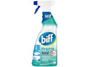 Biff Hygiene Total antibakteriální čistič koupelny a WC 750 ml | Malechas