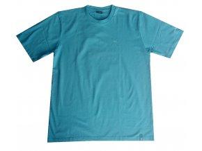 Klimatex Pánské triko s krátkým rukávem petrolejová M | Malechas