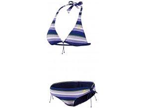 adidas dvoudílné plavky Z29858 STRIPES HN BIK /42 | Malechas