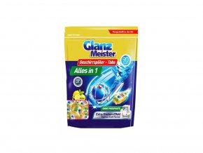 Glanz Meister tablety do myčky s vůní citronu, 90 ks | Malechas