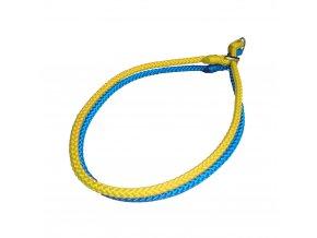 modro žlutý obojek