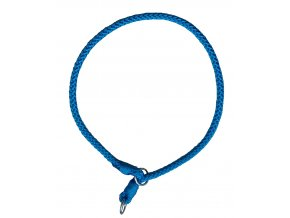 Stahovací obojek modrý