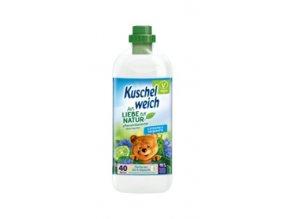 Kuschelweich aviváž NATURE Chrpa Limetka 1 L | Malechas