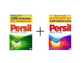 Prací prášky z Německa Persil Universal 100 PD + Persil Color 100 PD | Malechas