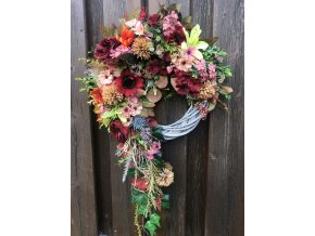 Věnce na dveře podzimní
