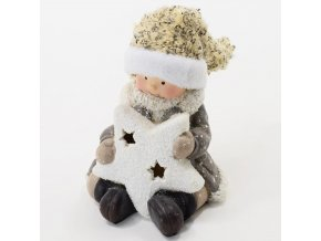 Vánoční dekorace keramika