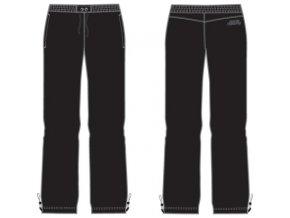 Alpine Pro 9152990 COOKIE černé Dámské kalhoty - šusťáky