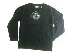 Pánské tričko s dlouhým rukávem Loap  BENTON v černé barvě