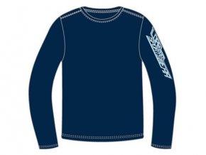 Pánské tričko s dlouhým rukávem v modré barvě Loap  BENTON