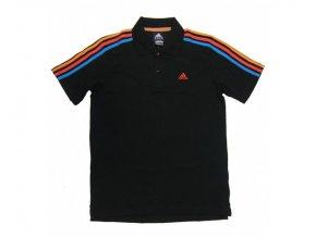 Pánská trička Adidas Polo černé F48432