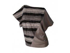 Draps 60 - šedé  dámské tričko