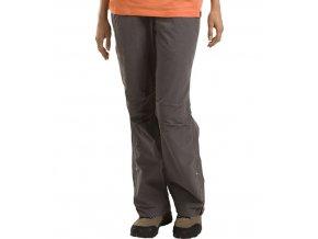 Alpine pro  MAITE 10061904  hnědé Dámské kalhoty