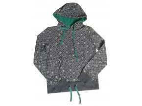 Dámské mikiny s kapucí Alpine Pro TALA 4931900