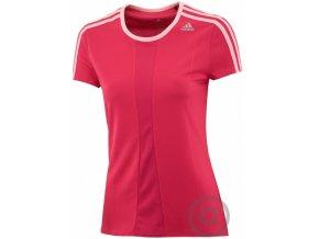 adidas dámské růžové funkční triko