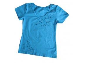 Draps Dámské tričko 69 / modré/ vel.M