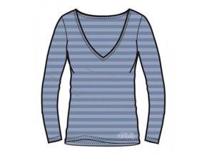 Alpine Pro DORTHEN 70049678 - modrofialové Dámské triko