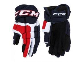 CCM C 200 hokejové rukavice černá/bílá