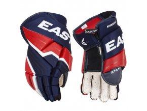 Easton hokejové rukavice STL 65S NYRDWH