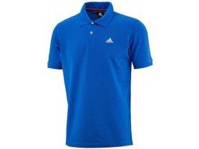 Pánská trička Adidas Polo modré Ess Polo X19178