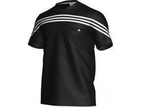 Pánské černé tričko adidas X22158