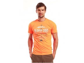 Pánská trička s potiskem Alpine Pro Rodrigo MTSB038324PB