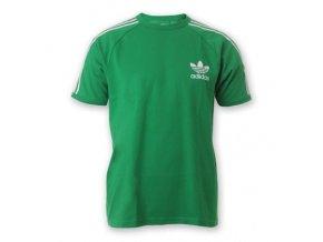 Pánská trička Adidas Originals zelená /XL