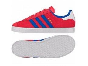 adidas Originals Gazelle 2 J S77369 červená dětská obuv