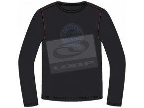 pánská trička s potiskem Loap ANTHONY CCM1234/černé/M