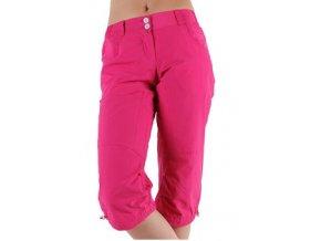 Alpine Pro 9184806 SPARTEJ - růžové 3/4 kalhoty