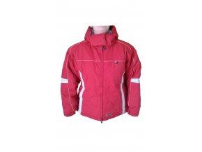 Dámská zimní bunda Alpine Pro 411845 / červená / XL