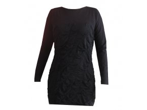 Dámské šaty DRAPS 150 - černé  vel.L