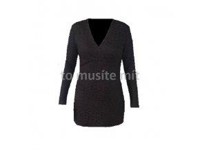 Dámské šaty DRAPS 181 černé