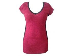 Dámské úpletové šaty Draps 722 červené