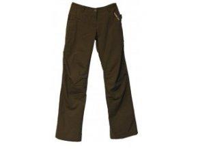 Alpine Pro AMBER 1754928 Dámské zateplené kalhoty hnědé