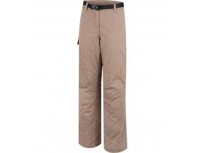 Dámské zateplené kalhoty GAIA Alpine Pro 10002904 - hnědé