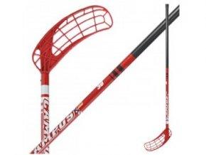Florbalová hokejka Salming CAMPUS 36 KID /95 cm/ červená