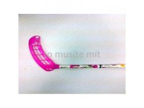 Florbalová hůl Canadien Shark 36 Pink Round 65 SB