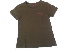 Dámské tričko Alpine Pro hnědé