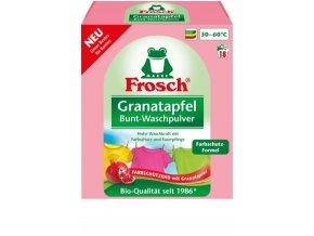 Prací prášky z Německa Frosch granátové jablko 1350 g