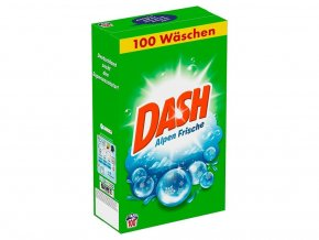 Prací prášky z Německa Dash Alpen Frische, 100 pracích dávek | Malechas