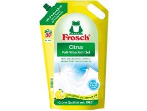 Frosch Citrus německý ekologický prací gel, 20 PD | Malechas