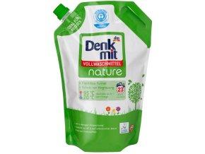 Denkmit nature, prací gel na bílé a barevné prádlo, 23 pracích dávek