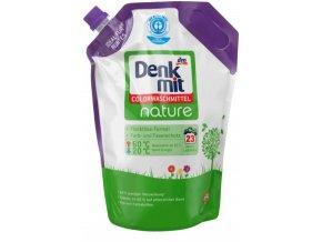 Prací gel na barevné prádlo Denkmit nature, 23 pracích dávek
