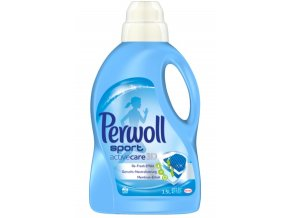 Prací gel Perwoll Sport active care 3D, 20 pracích dávek