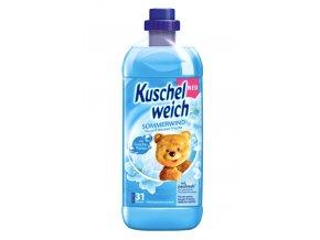 Kuschelweich Sommerwind, modrá aviváž, 990 ml, 33 PD