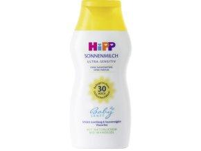 Hipp Babysanft, Sluneční mléko Ultra Sensitiv LSF 30, 200 ml