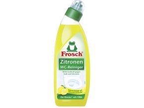 Frosch citrónový čistič WC, 0,75 l