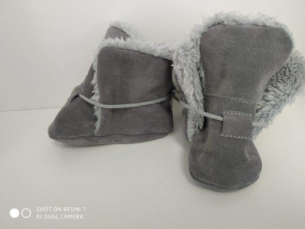 BaBice zimní capáčky Grey